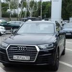 Тест драйв Audi Q7