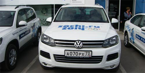 Volkswagen Touareg NF тест драйв