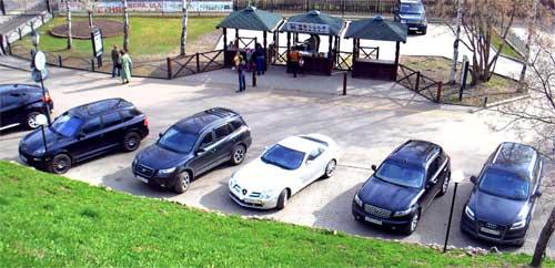 Вот, на каких машинах ездят в Ярославле