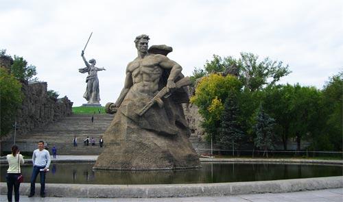 город-герой Волгоград, Мамаев Курган