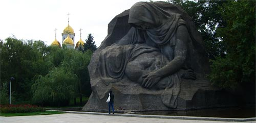 Скорбящая мать, Мамаев Курган, город-герой Волгоград