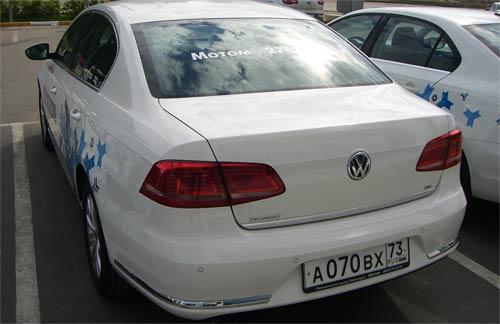 Volkswagen Passat B7 Sochi Edition 2014