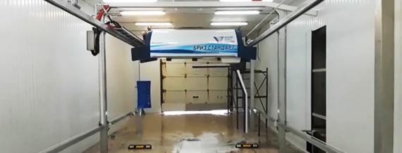 Мойка роботизированная, туннельная