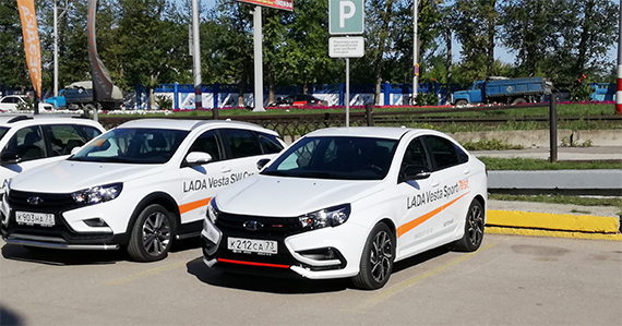 Lada Vesta Sport – тестовая поездка